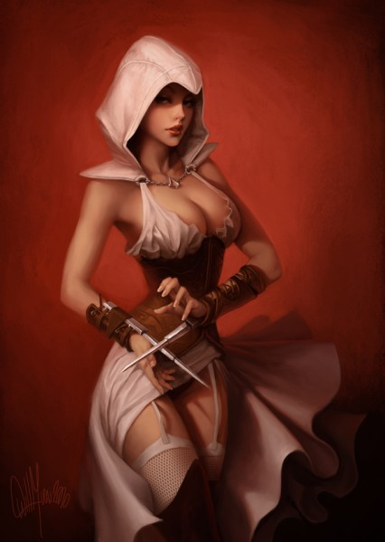 women assassin's origins creed topless How old is kokichi ouma