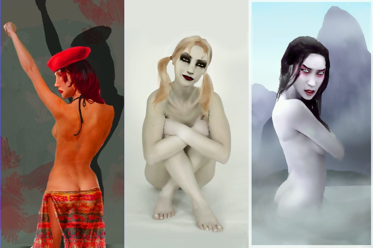 and the vampire therese bloodlines save masquerade jeanette League of legends jinx anal