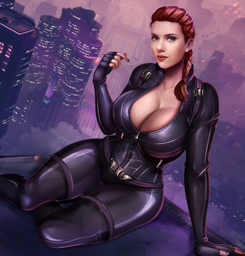 avengers the black naked widow Taboo-charming-mother