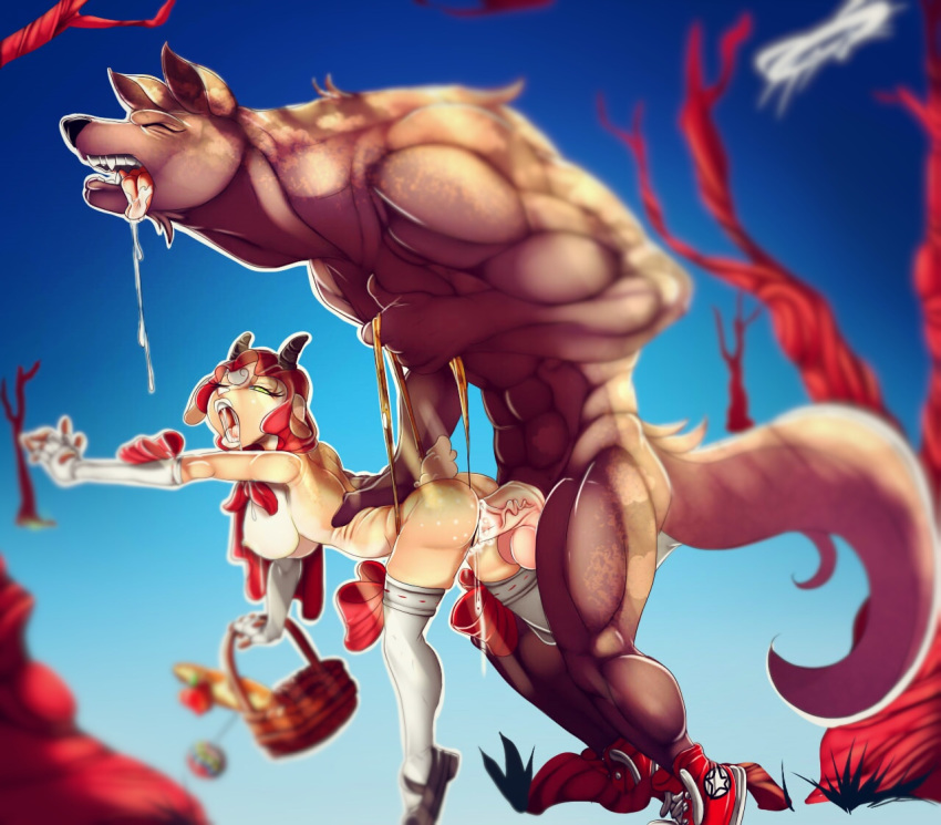 red riding vore little hood Kiss-x-sis