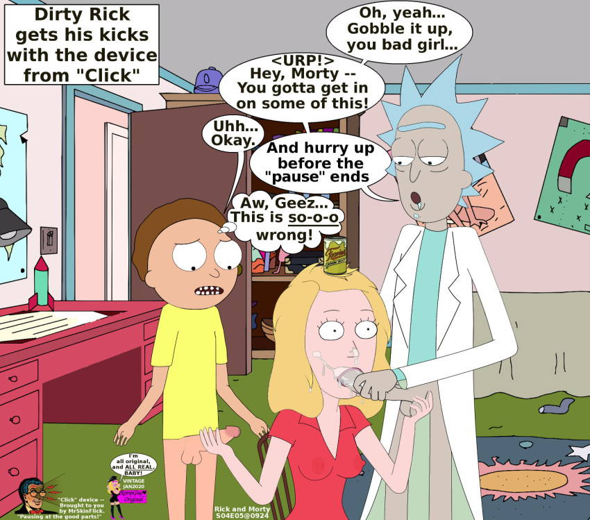 forever perfect swim hair adult Rick and morty summer nude