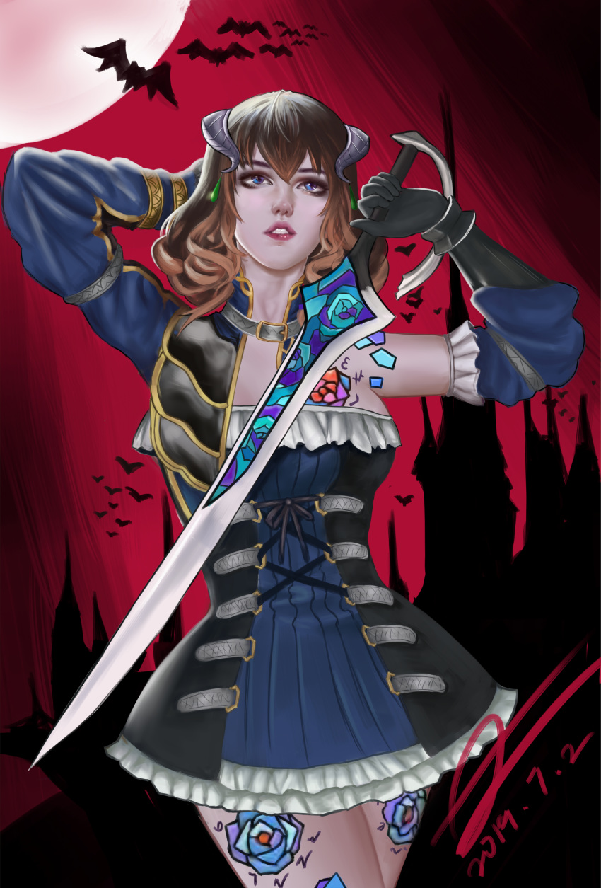ritual the ectoplasm night of bloodstained Fire emblem: binding blade