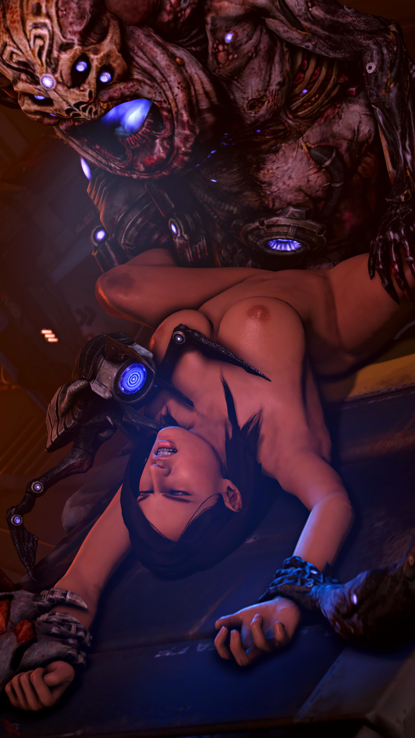 effect andromeda gif mass porn How to tie a frogtie