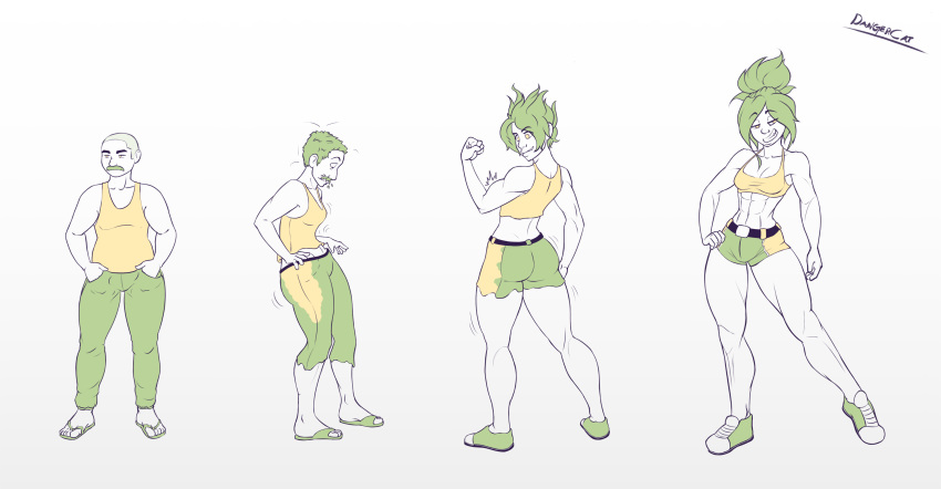 female transformation forced male to The legend of zelda demise