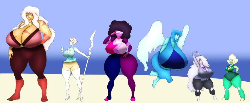 steven peridot universe x lapis Project x love potion disaster animated gif