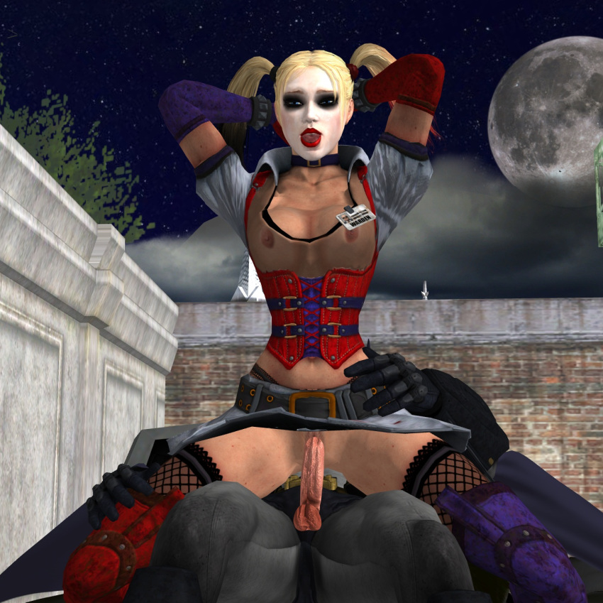 arkham quinn porn city harley Transformers prime jack and miko fanfiction