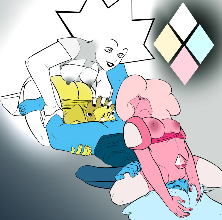 yellow steven and diamond diamond universe blue Mangle from five nights at freddy's